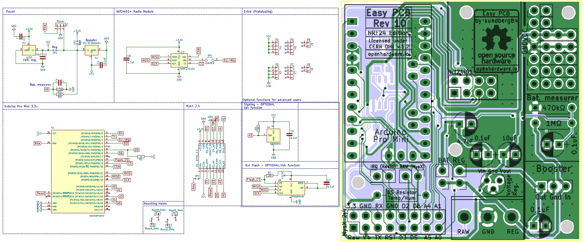 Easy Newbie Pcb For Mysensors Enables Open 12v Linear Regulator Transceiver Radio Enter Image Description Here