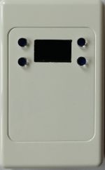 Mounted in a blank switch panel