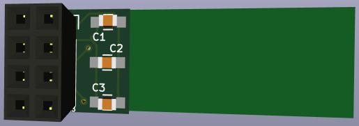 KiCad 3D view