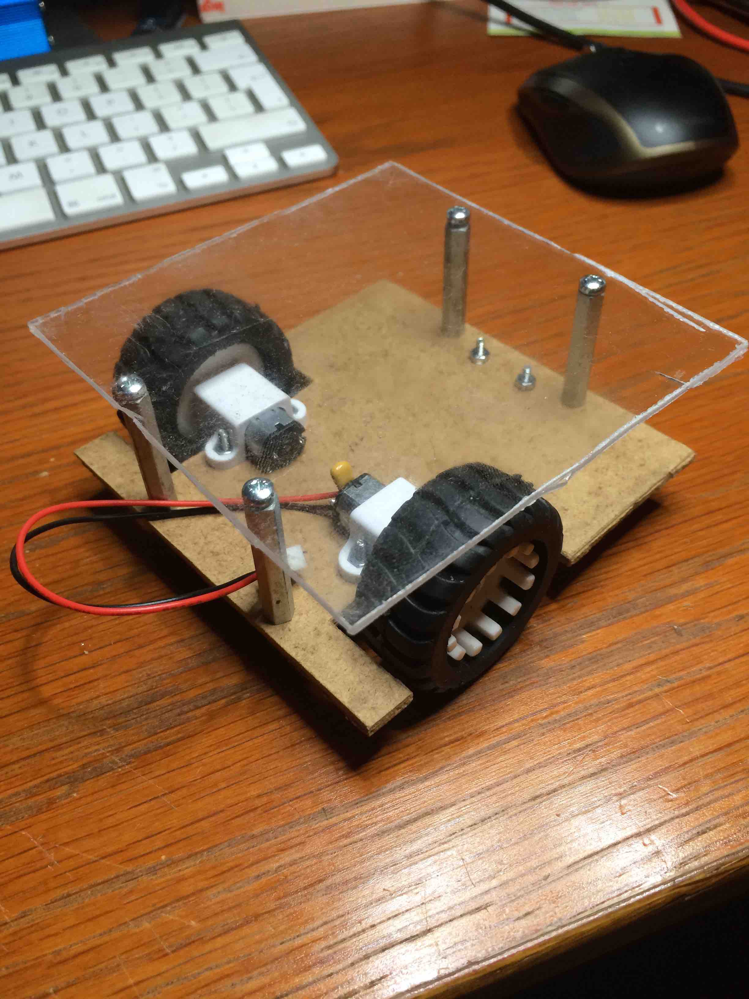 my first mechanical prototype