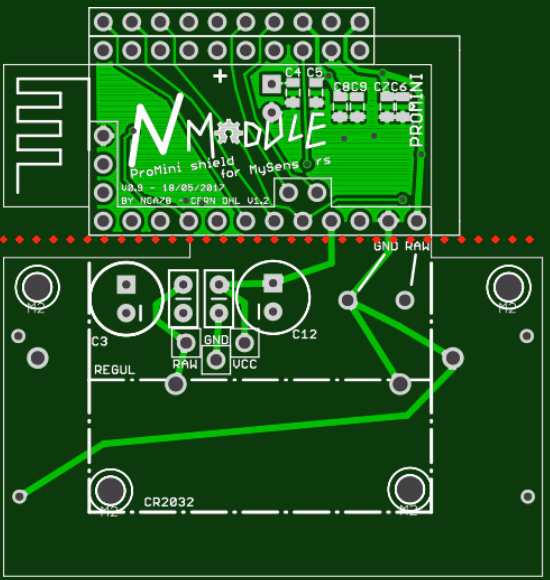 "NModule and ""power"" board"
