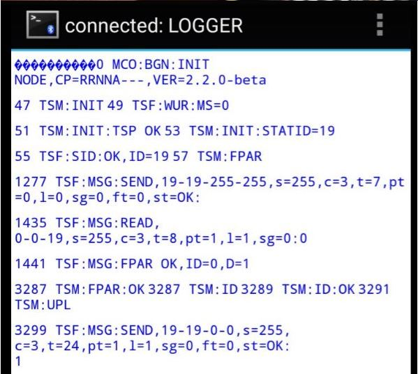 Bluetooth logging