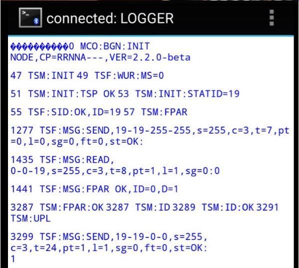 Bluetooth logging