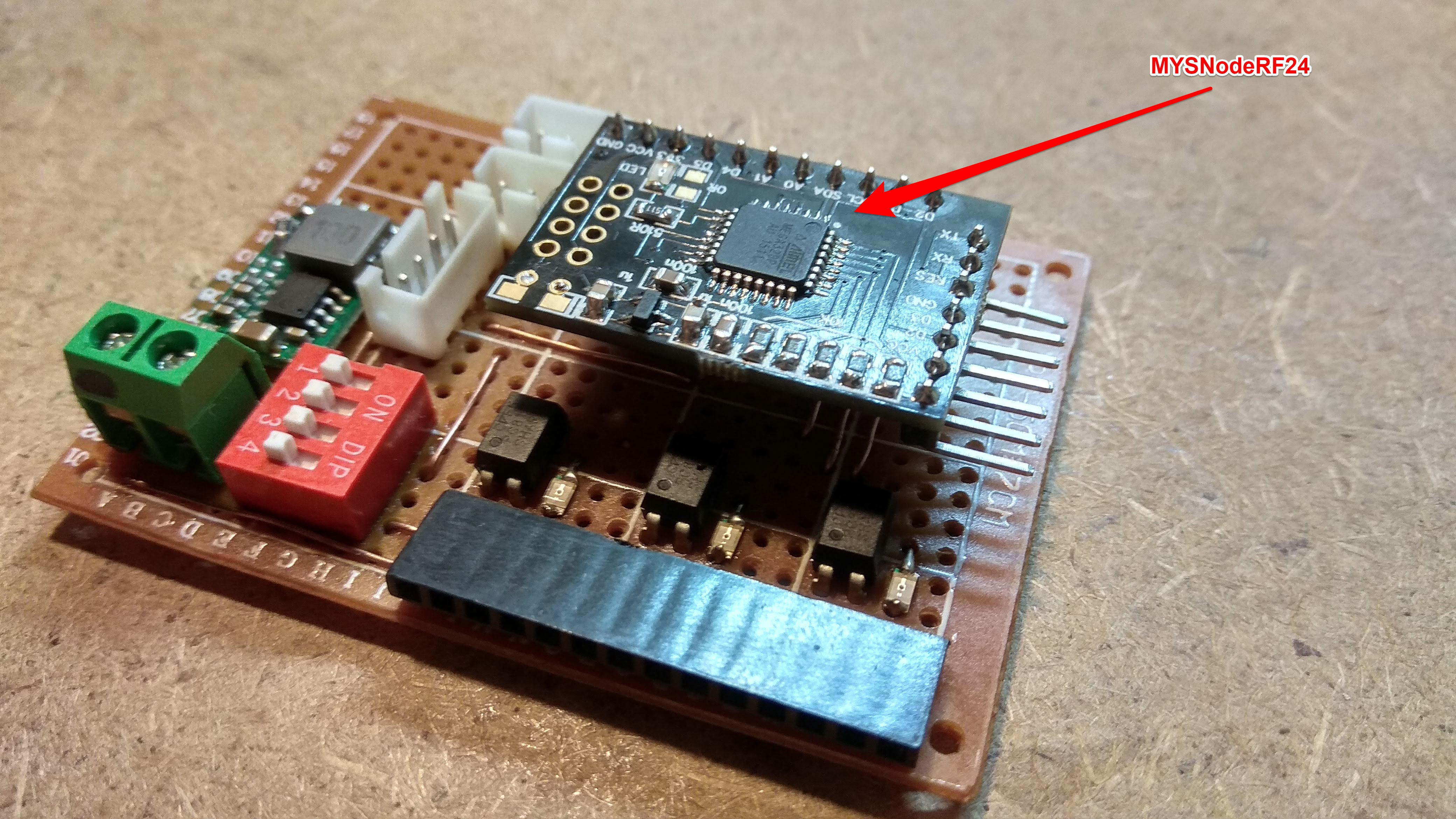 ALARM module with RF24 node