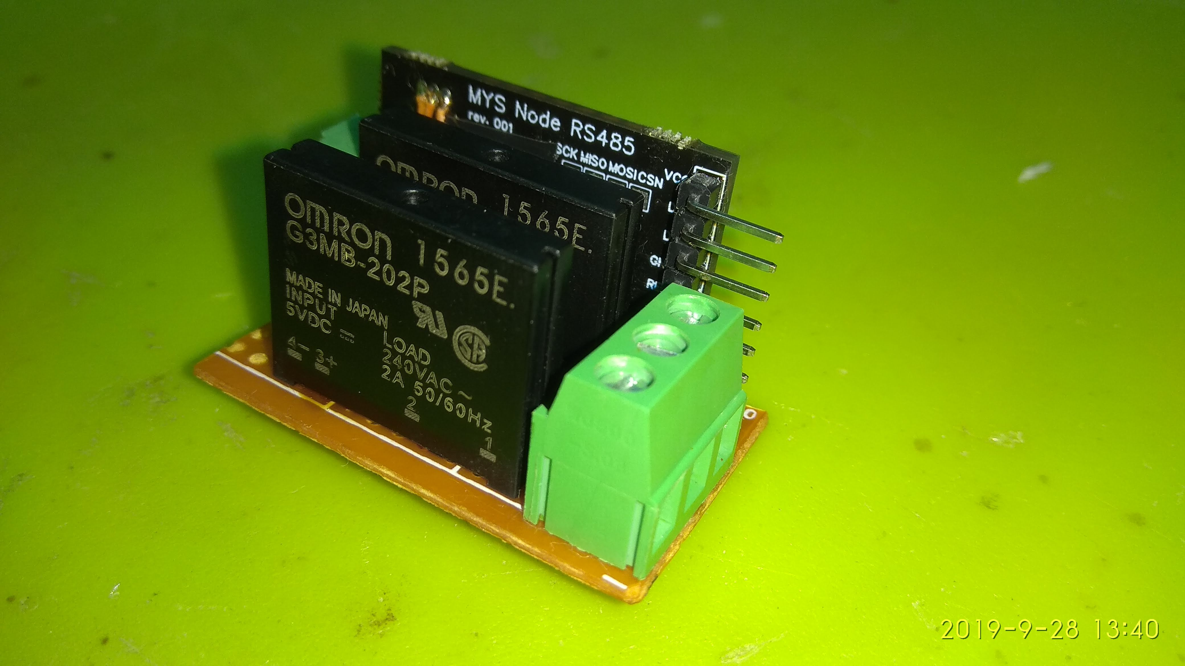 LIGHT module with RS485 node