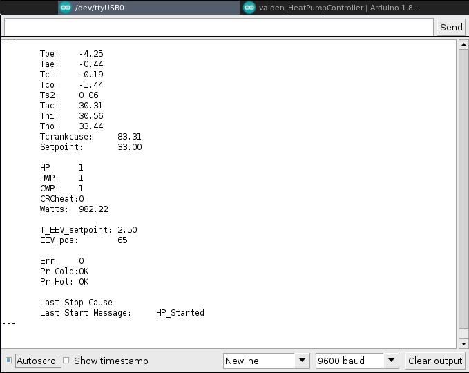console statistics screenshot