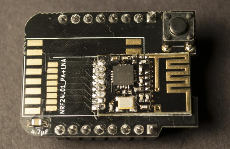 NRF24L01 shield