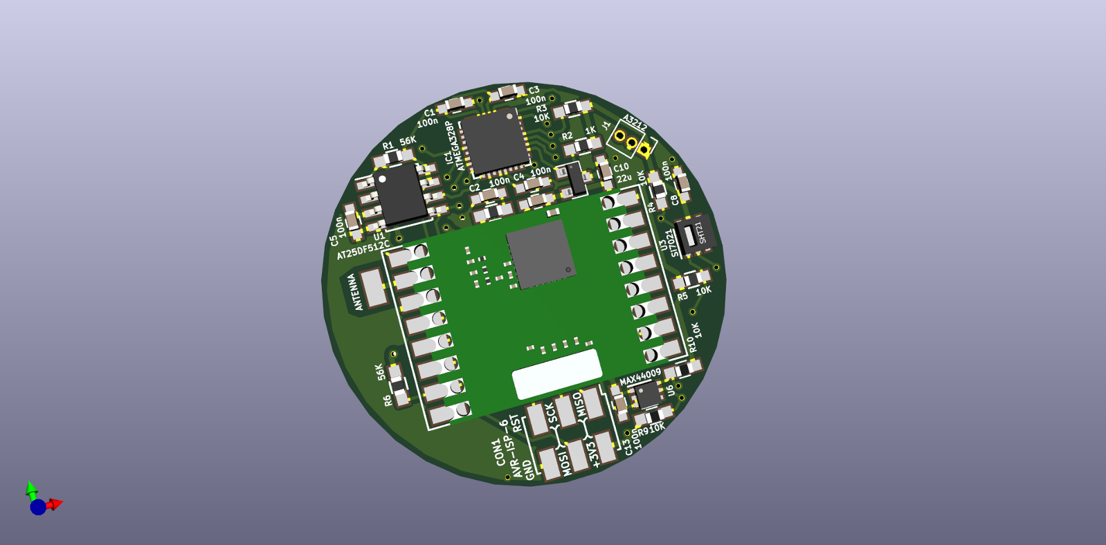 RFM69 Multisensor Node (CR2032)   OpenHardware io - Enables