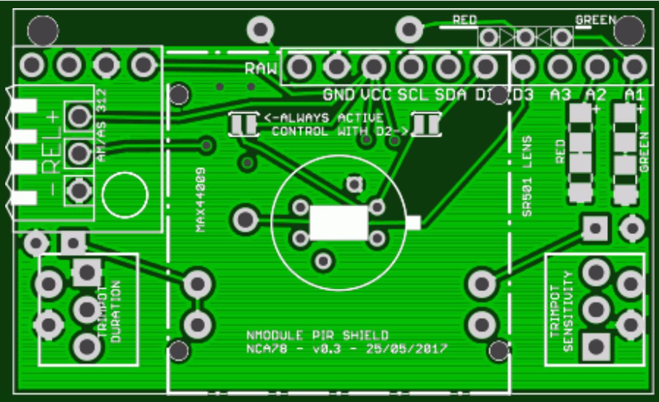 Nmodule Pir Sensor Shield Enables Open Source Schematic Hardware Innovation
