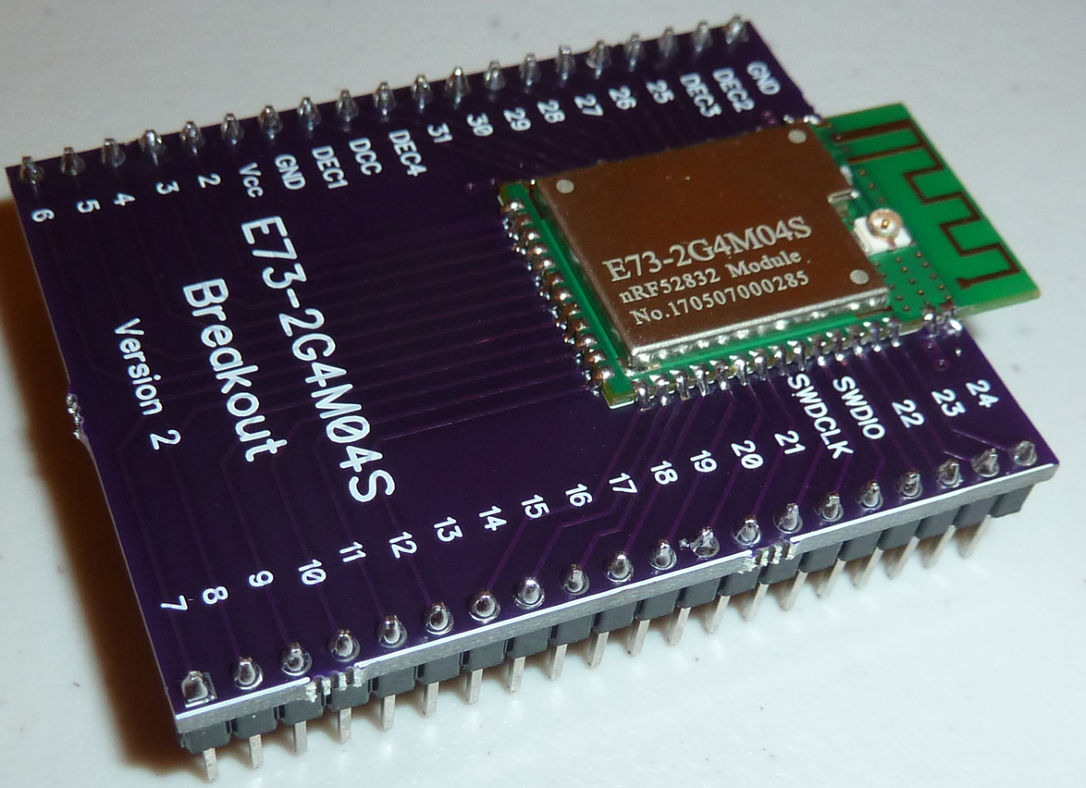 nRF52832 Breakout Board | OpenHardware io - Enables