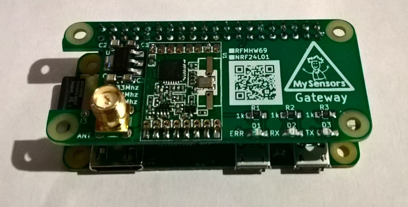 MySensors Gateway for Raspberry PI | OpenHardware io