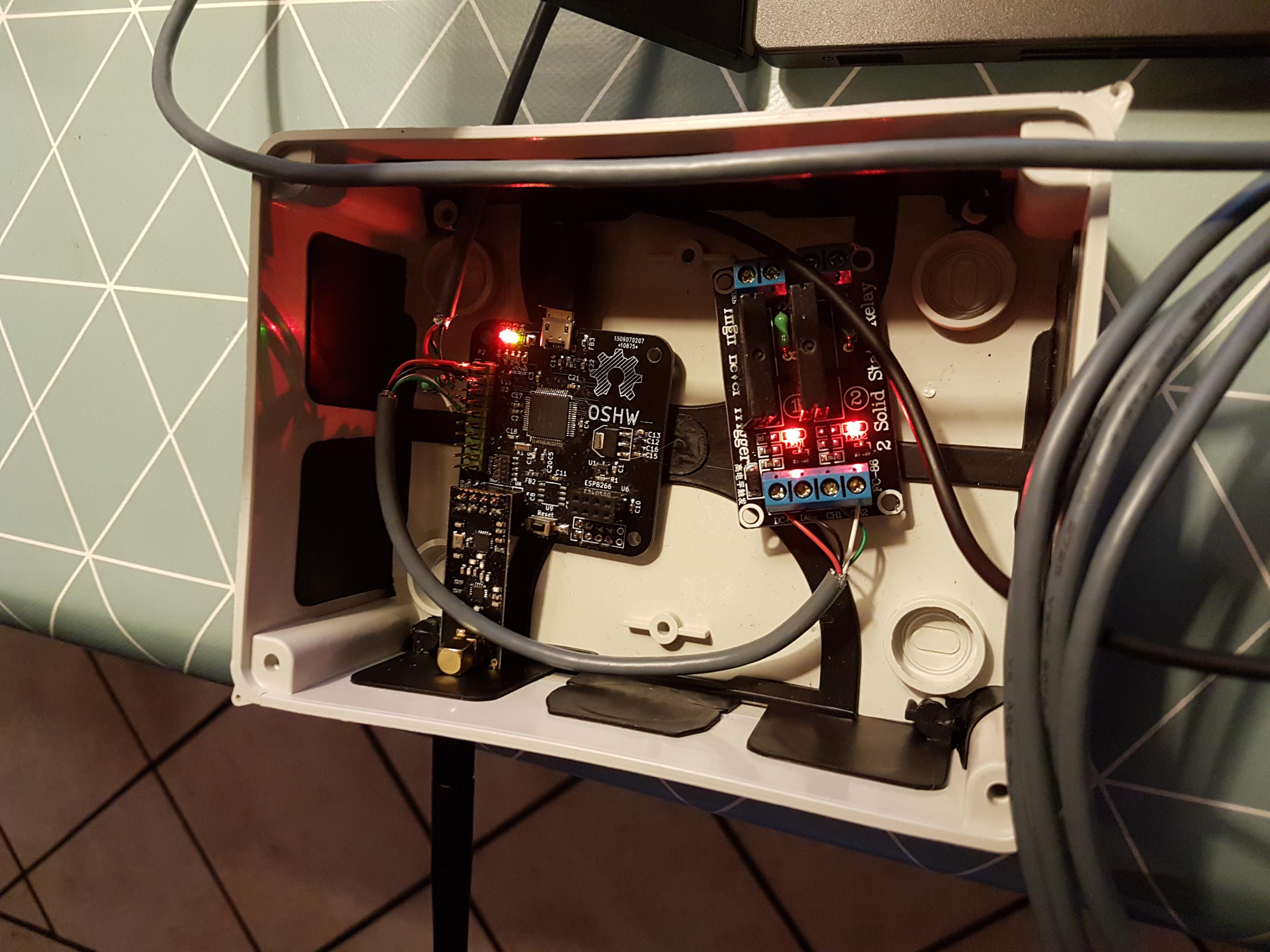 Floor heating controller | OpenHardware io - Enables Open