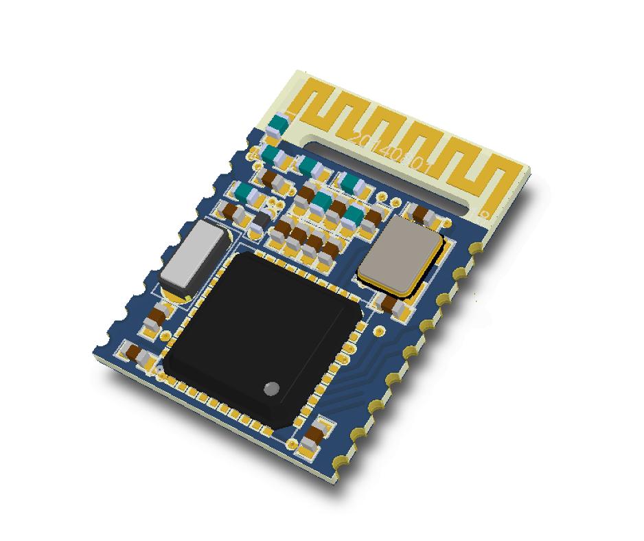 TI CC2540 BLE Module With Smalles Size PCB Antenna  | OpenHardware