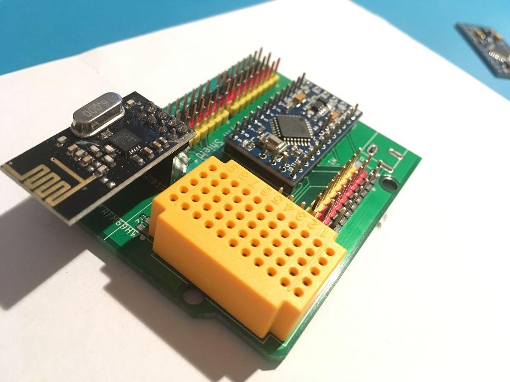 Arduino Pro Mini IO shield