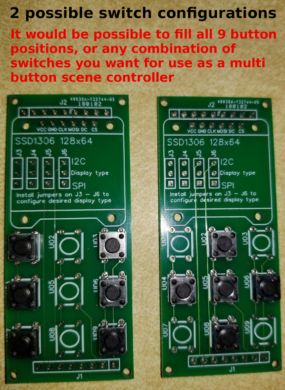 2 switch configurations