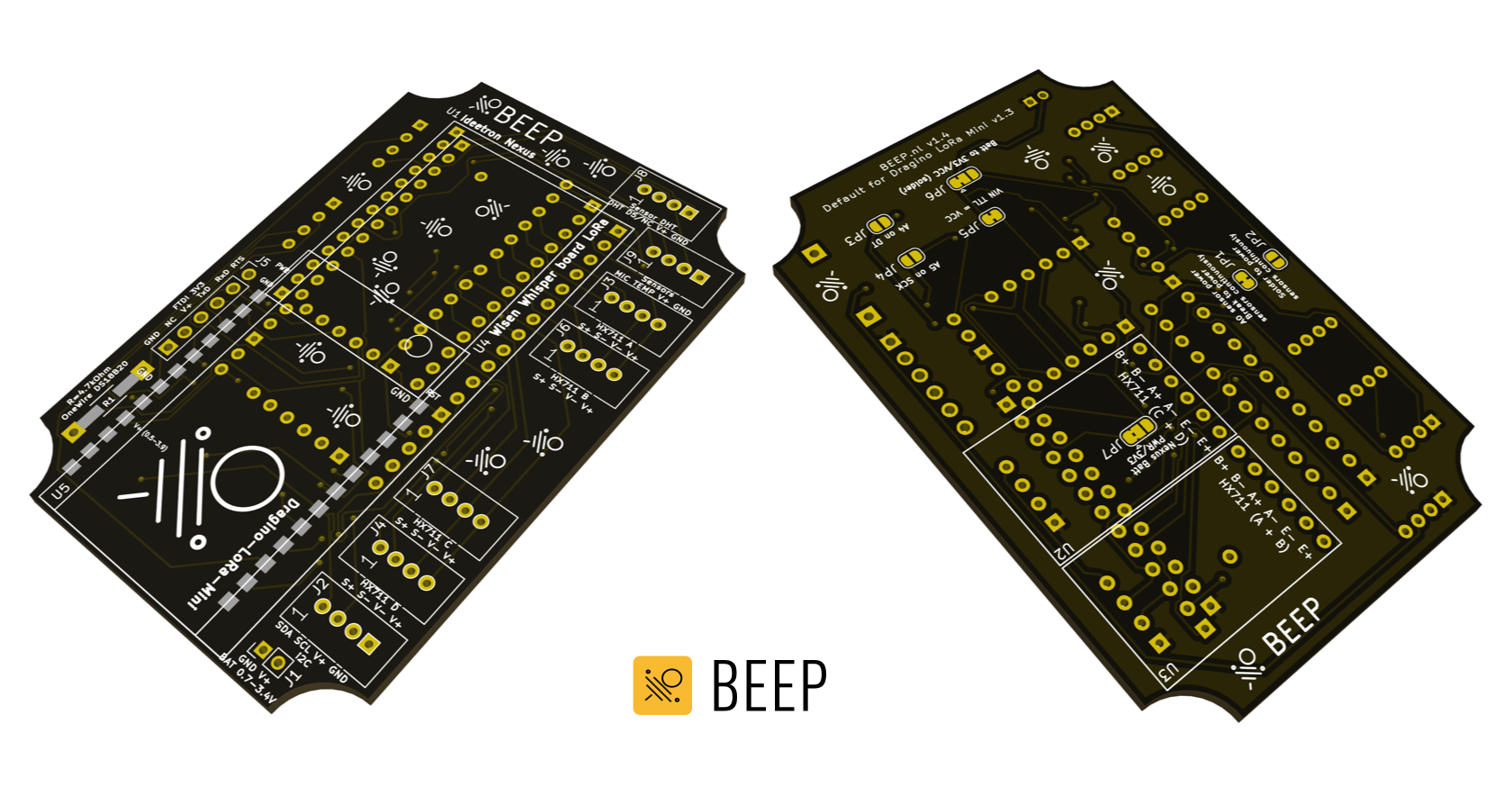 BEEP measurement system - PCB