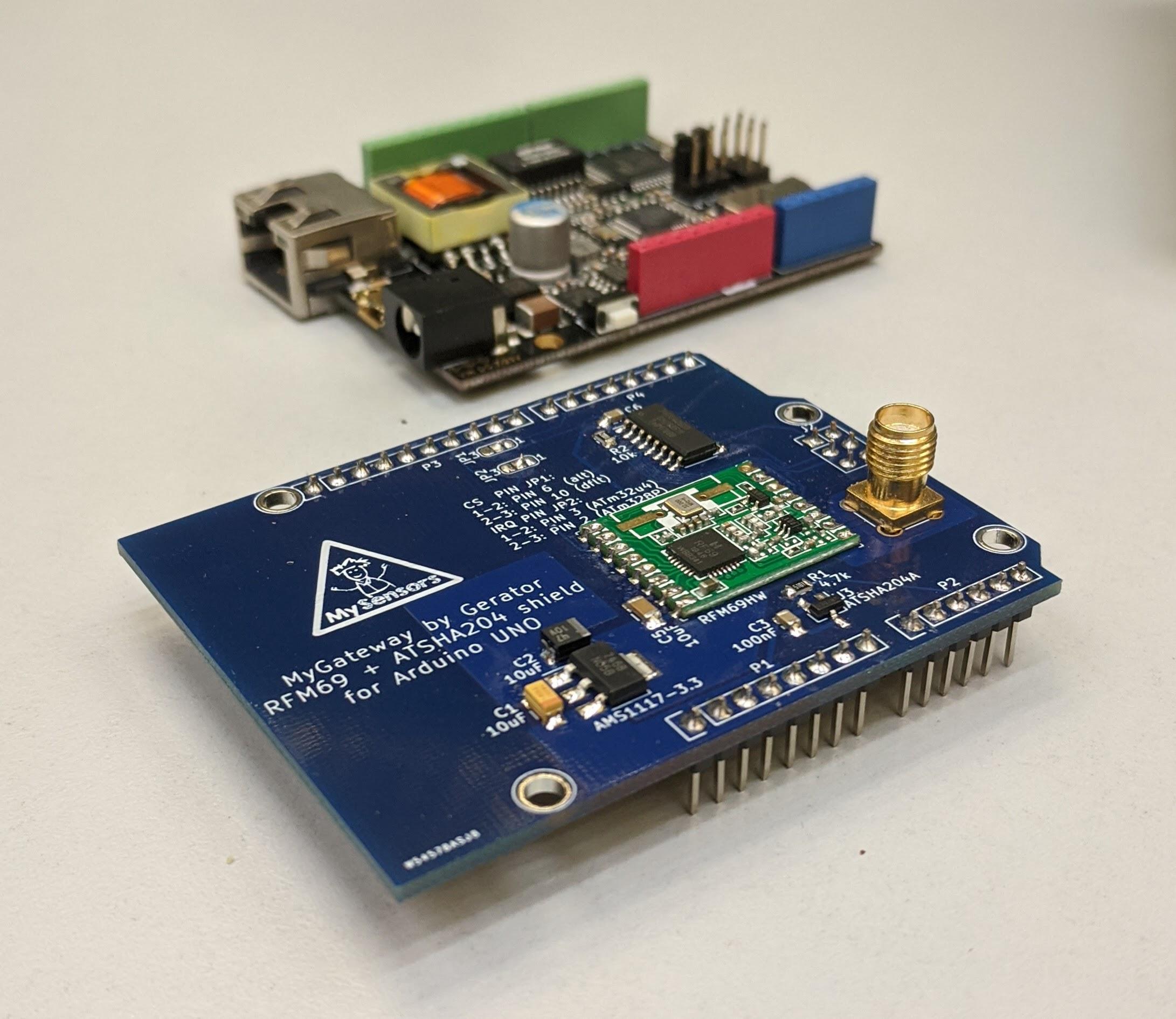 MyGateway + DFRobot board